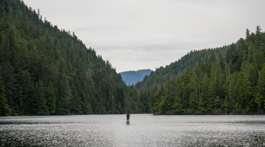 Stand Up Paddling the Grease Trail