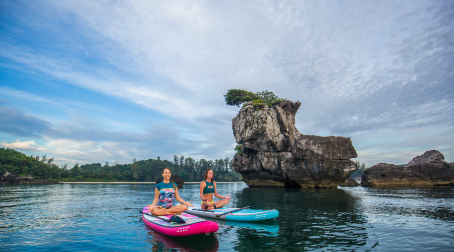 SUP Yoga Weekend in Thailand with Kelly Huck